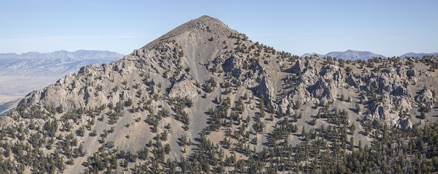 Marshall Mount from the west. Larry Prescott Photo