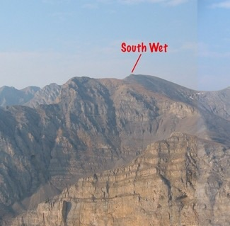 South Wet Peak. John Platt Photo