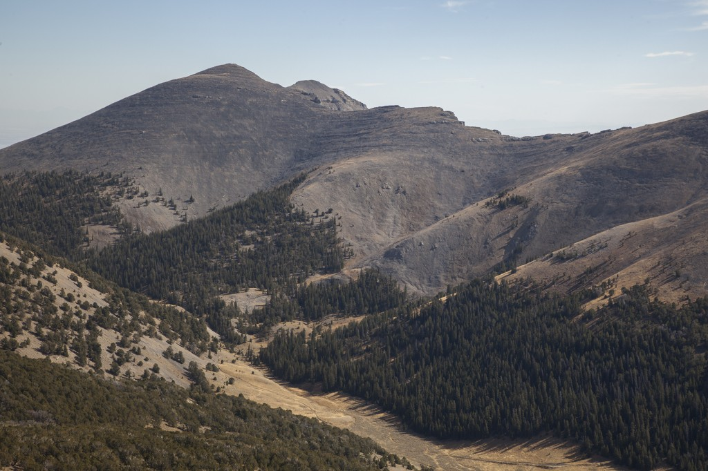 Shril Peak from the north. Larry Prescott Photo