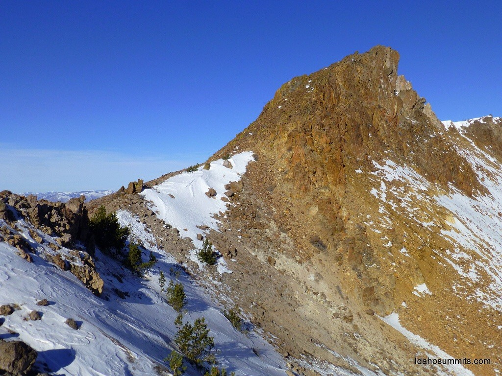 South Jerry Peak. Dan Robbins Photo