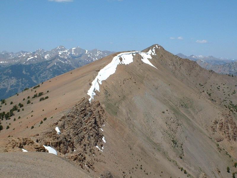 Summit Creek Peak. Dan Robbins Photo