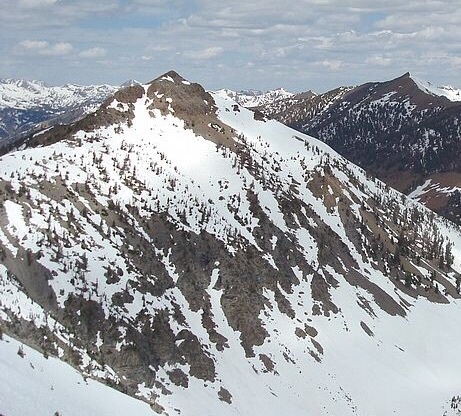 Wilson Creek Peak from Devils,Bedstead West. Dave Pahlas Photo