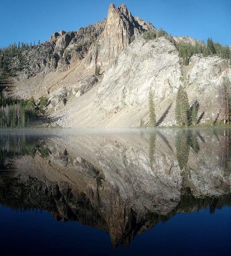 Hatchet Peak above Hatchet Lake. Dave Pahlas Photo