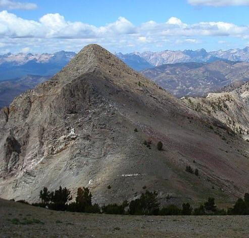 Iron Creek Peak. Dave Pahlas Photo