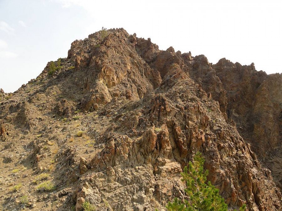 Jack Chamberlain Peak from the west. Dave Pahlas Photo