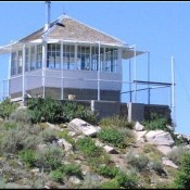 The Deadwood Lookout is located due south of the Bog Benchmark. Make sure after you tag the summit to continue on to the lookout for a great view. The lookout is availabile for overnight rentals.