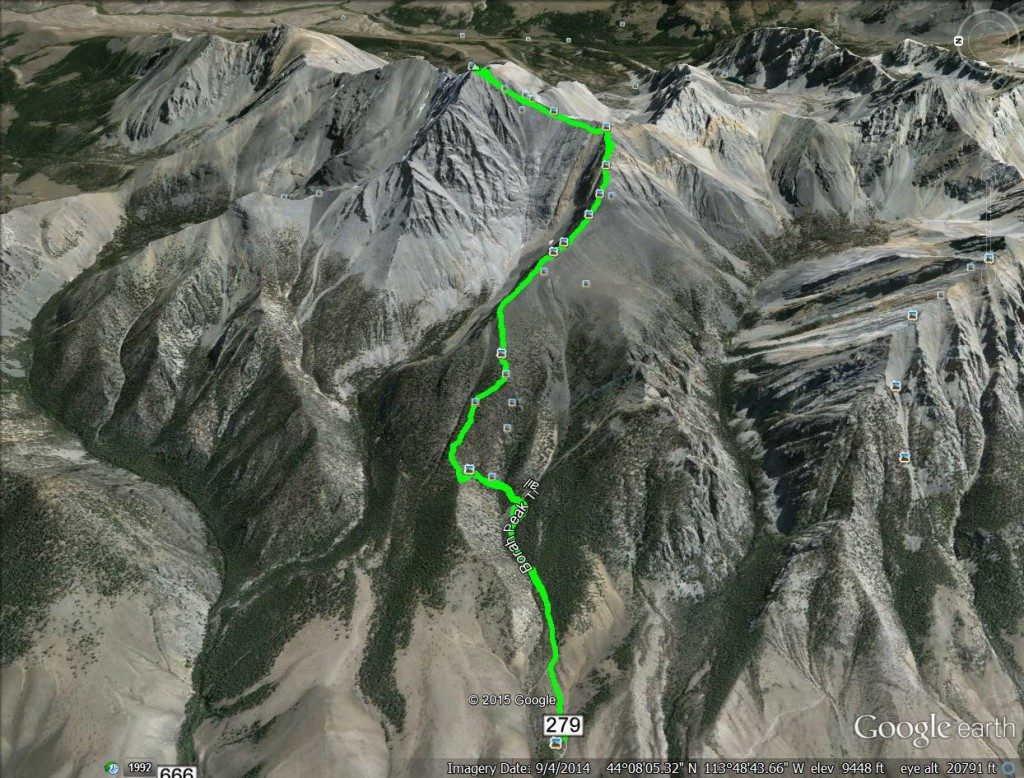 2010 GPS track - Margo Mandella