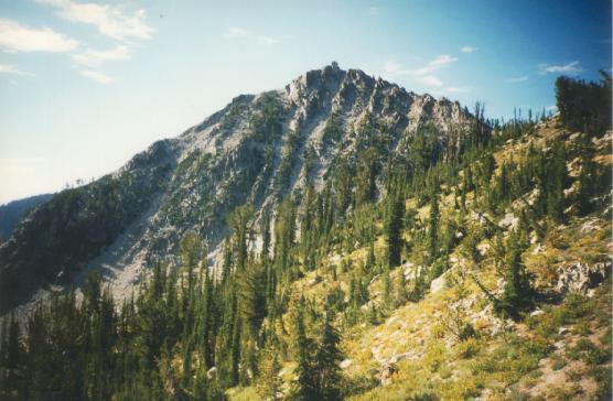 Trinity Mountain--another view. Dan Robbins Photo