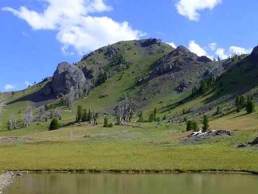 Peak 10096 (Copper Trail Peak). Dan Robbins Photo