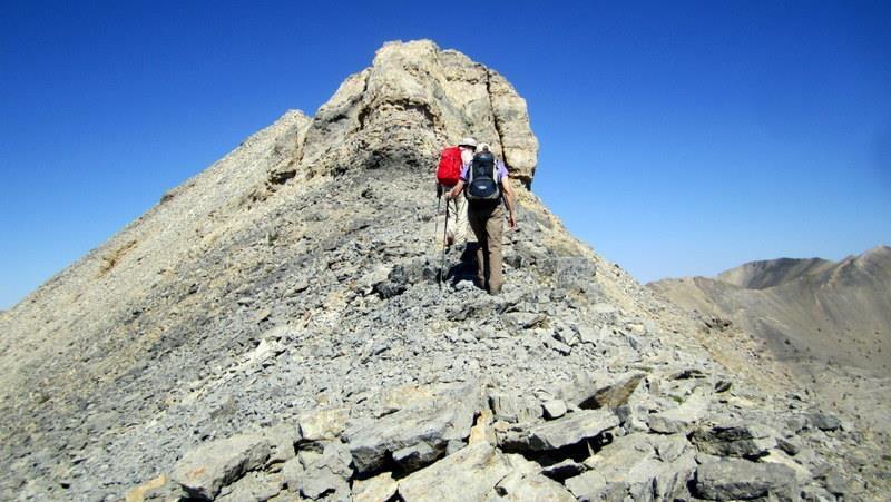 The summit. Deb Rose Photo