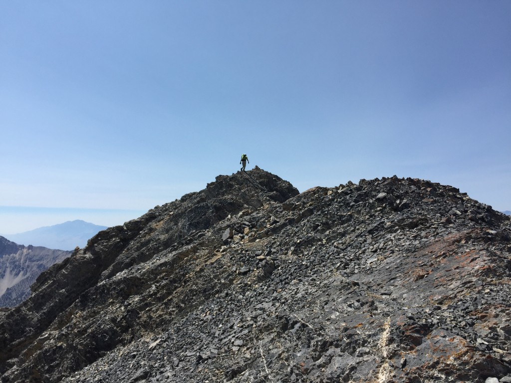 John Platt on the summit.