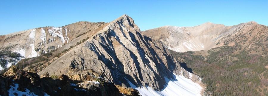 Croesus Peak. John Platt Photo