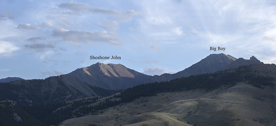 Shoshone John and Big Boy. Larry Prescott Photo