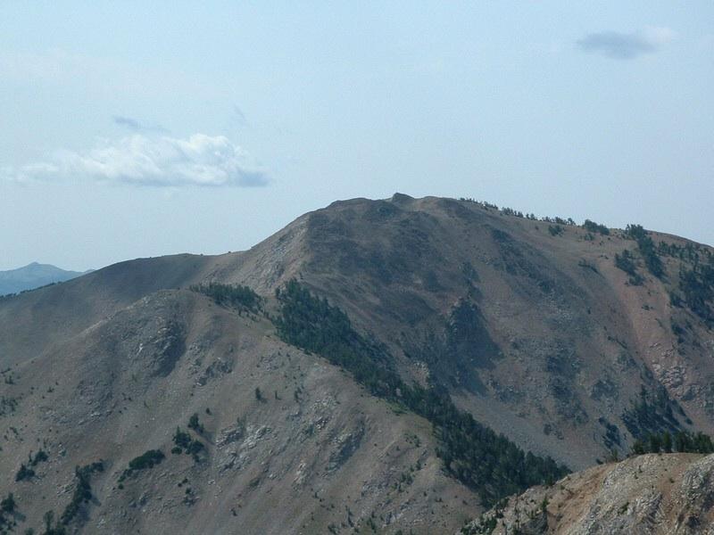 Baker Peak from Backdrop Peak. Dan Robbins Photo