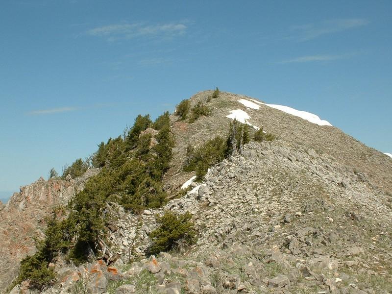 Meade Peak. Dan Robbins Photo