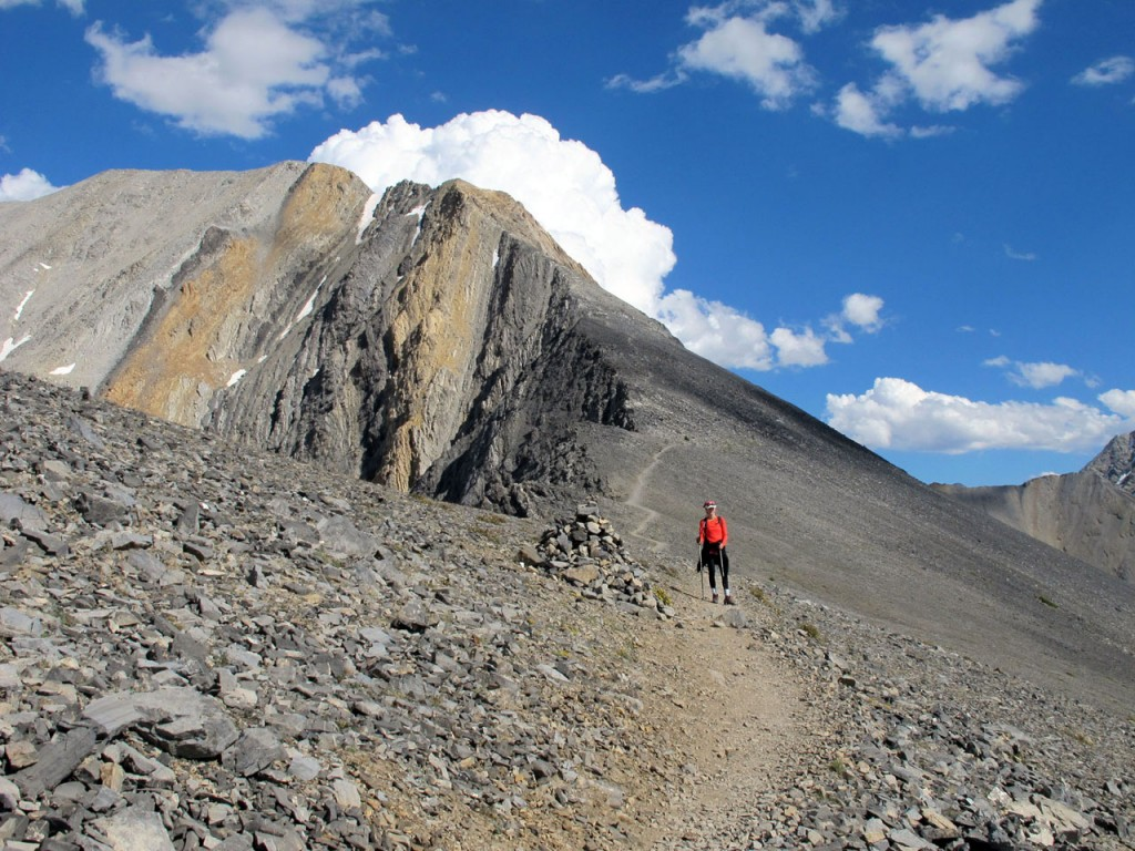 Approaching Chicken Out Ridge. Bob Boyles Photo