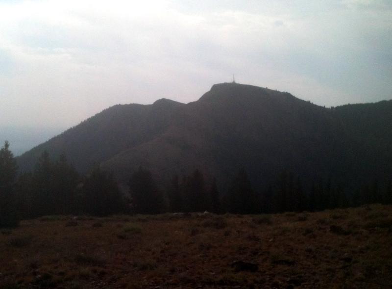 Hayden Peak from the west.