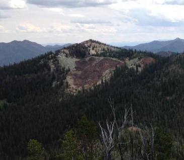 Peak 9403 from Peak 9366.