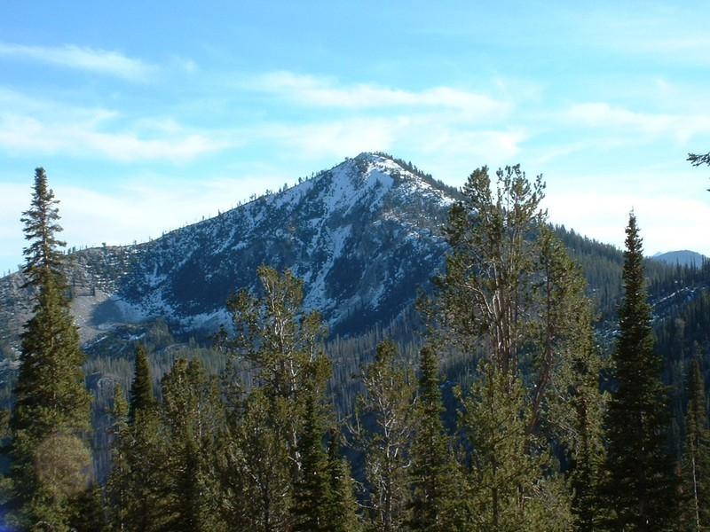 Shepard Peak from Silver Mountain. Dan Robbins Photo