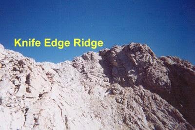 sacajawea knife edge