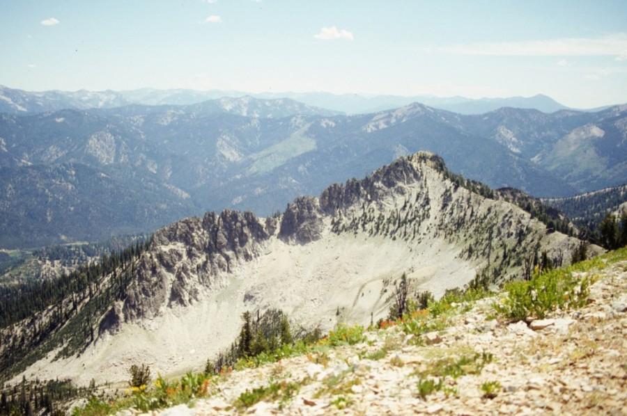 Silver Peak from Shepard Peak.